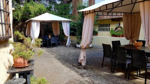 Panorámica del patio desde Rincón de San Pedro I